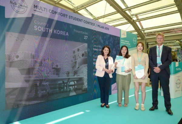 Špeciálna cena ISOVER Multi-Comfort House Students Contest 2019 Korea