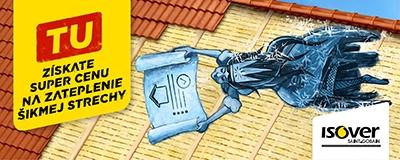 Dopyt zateplenie sikmej strechy