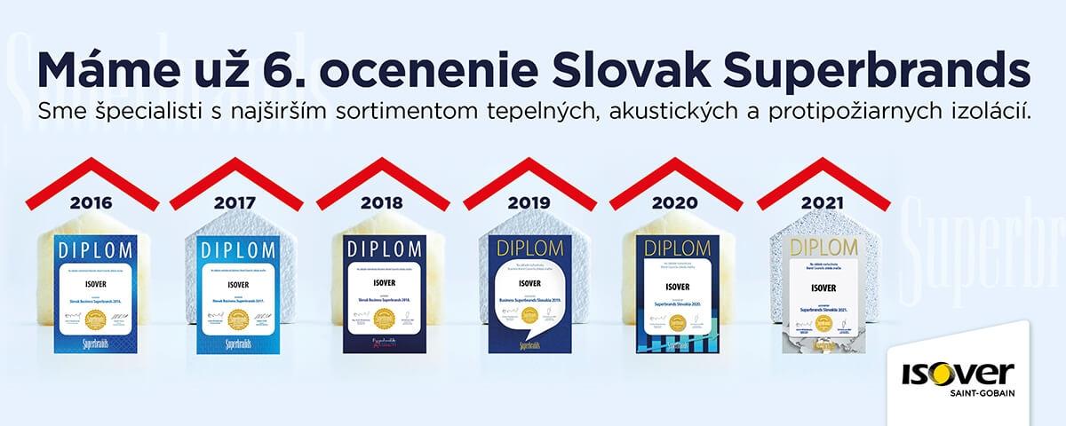 ocenenie Slovak Superbrands