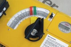 Isov air prístroj na meranie vzduchotesnosti display