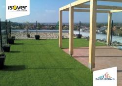 Zelene Atrium ISOVER- Trnava - vegetacna strecha