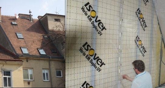 Isover rekonstrukcia bytovej jednotky vo Viedni