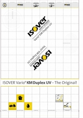 ISOVER VARIO KM DUPLEX UV parozabrana