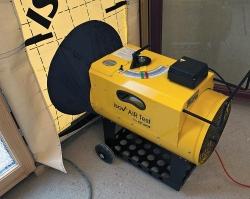 Isov air prístroj na meranie vzduchotesnosti celý